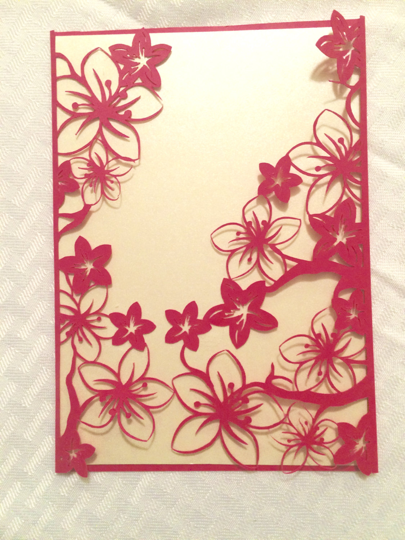 cherry-blossom-flowers-wedding-invitation-gatefold-cut-pink-floral ...