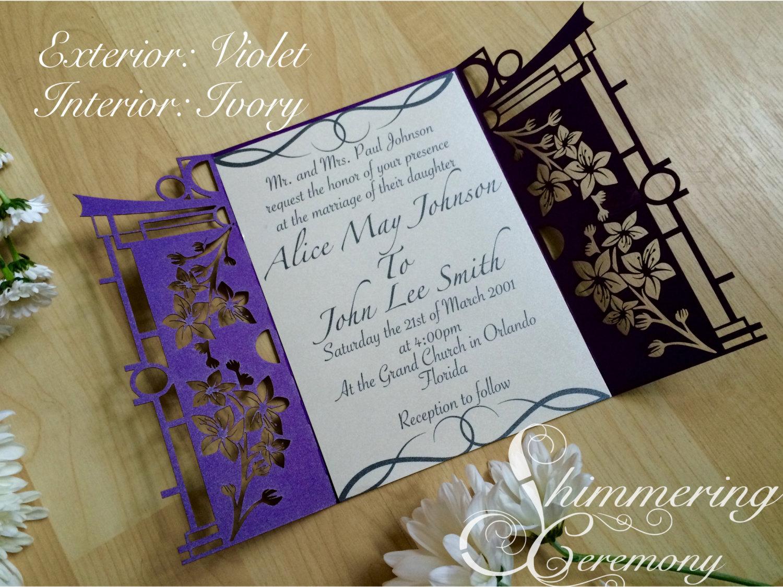 japanese-garden-gatefold-wedding-invitation-cherry-blossoms-laser ...